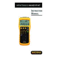 Martindale HPAT500-2 PAT Tester - User Manual