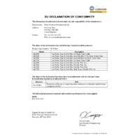 Comark AK28M Flexible Wire Air Probe - Declaration of Conformity