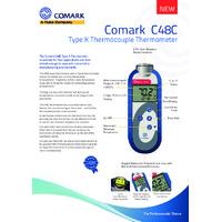 Comark C48C Industrial Thermometer - Datasheet