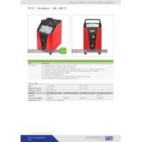 Sika TP37 Dry Block Temperature Calibrators - Datasheet