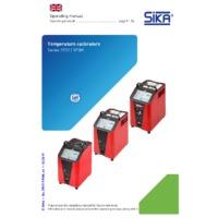 Sika TP37 and TP3M Dry Block Temperature Calibrators - Operating Manual