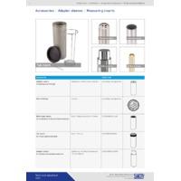 Sika TP37 Dry Block Temperature Calibrators - Accessories Datasheet
