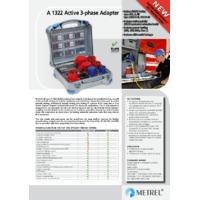 Metrel A1322 Active 3-Phase Adapter - Datasheet