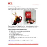 HD Electric DVM-80  Universal Digital Voltmeters - Press Release