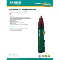 Extech DV30 AC Voltage Detector - Datasheet