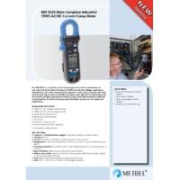 Metrel MD9225 400A True-RMS Current Clamp Meter - Datasheet
