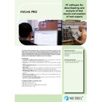 Metrel HVLink PRO Software - Datasheet