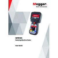 Megger MTR105 Handheld Static Motor Tester - User Manual