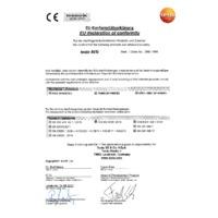 Testo 805i Bluetooth Infrared Thermometer Smart Probe & Data Logger - Declaration of Conformity