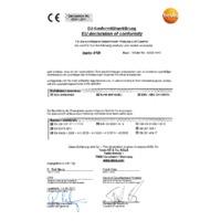 Testo 410i Bluetooth Vane Anemometer Smart Probe & Data Logger - Declaration of Conformity