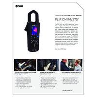 FLIR CM275 IGM™ Thermal Imaging Datalogging Clamp Meter - Datasheet
