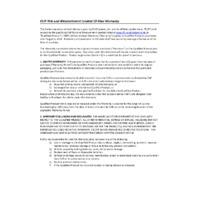FLIR CM275 IGM™ Thermal Imaging Datalogging Clamp Meter - Warrany Information