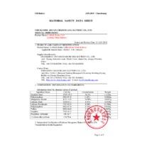 Kern TGC Pocket Balances - Safety Datasheet