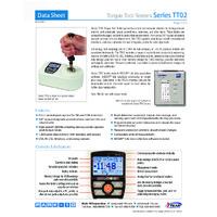 Mark-10 TT02 Series Torque Testers - Datasheet