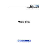 Mark-10 TT02 Series Torque Testers - User Guide