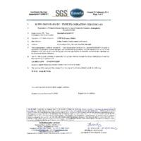 Comark C9500 ATEX Intrinsically Safe Pressure Meter - ATEX Certificate