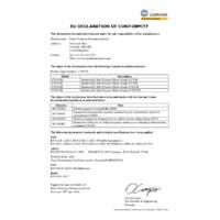 Comark C9500 ATEX Intrinsically Safe Pressure Meter  - Declaration of Conformity