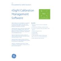 Druck 4Sight Standard On-Premise Calibration Software - Datasheet