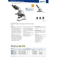 Kern OBT-1 Transmitted Light Compound Microscope - Datasheet