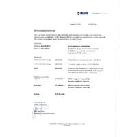 FLIR C2 Thermal Imaging Camera - Declaration of Conformity