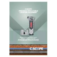 C. Scope MXL4 Data Logging Precision Cable Locators - Datasheet