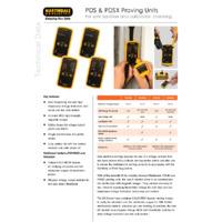 Martindale PDS &PDSX Proving Units - Datasheet