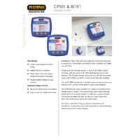 Martindale CP501 & BZ101 Socket Testers - Datasheet