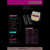 Kewtech KEW80L Bluetooth Label Printer - Datasheet