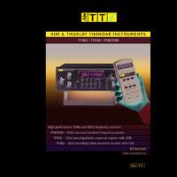 Aim-TTi TF960, TF930 & PFM3000 Counters - Datasheet