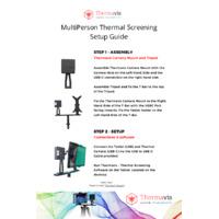 Thermavis Multi-Person Thermal-Screening Camera Kit - Setup Guide