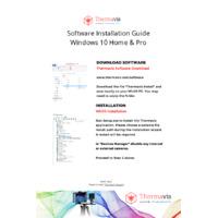 Thermavis Software - Installation Guide