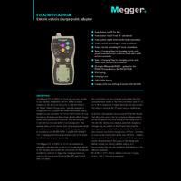 Megger EVCA210-UK Electric Vehicle Charge-Point Adapter - Datasheet