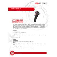 Hikvision DS-2TP31-3AUF Handheld Thermal Imaging Camera - Datasheet