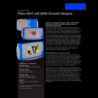 Fluke ii900 & ii910 Sonic Industrial Imager - Datasheet