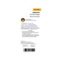 Fluke ii900 & ii910 Sonic Industrial Imager - Safety Information