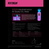 Extech CO240 Indoor Air Quality Meter - Datasheet