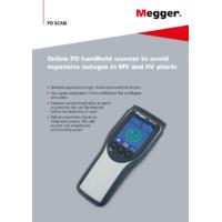 Megger PD Handheld Scanner - Brochure