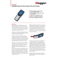 Megger PD Handheld Scanner - Datasheet