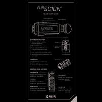 FLIR Scion Thermal Monocular - Quick Start Guide